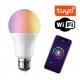 Inteligentna żarówka LED RGB+W E27 ~9W WIFI TUYA