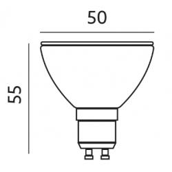 Żarówka LED Premium GU10 5W 38 Stopni Zimna - SAMSUNG