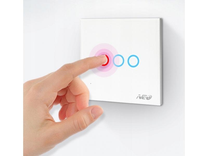 Włącznik światła NEO WiFi 3 obwody Google Alexa TUYA