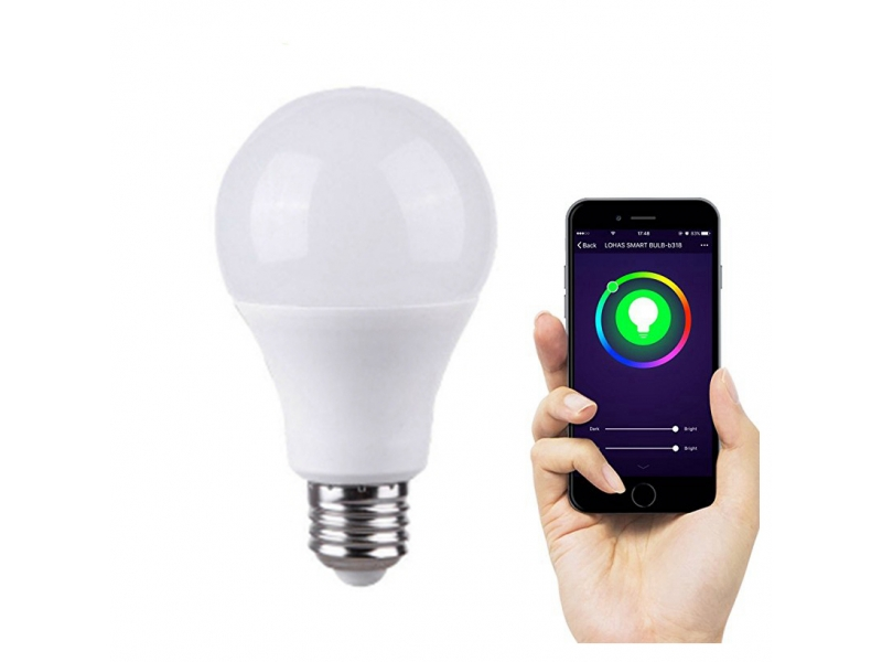 Inteligentna żarówka NEO LED RGB E27 WiFi TUYA
