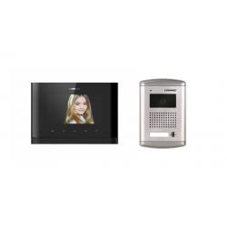 Zestaw kamera bramowa DRC-4CANS + monitor głośnomówiący CDV-77M(DC) BLACK