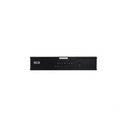 BCS-P-NVR1604-4K-16P SIECIOWY REJESTRATOR 16 KANAŁOWY IP SWITCH POE X16