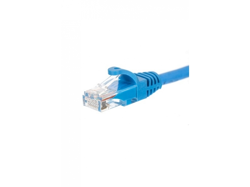 AK0103BL Patchcord UTP kat.5e 3m, niebieski