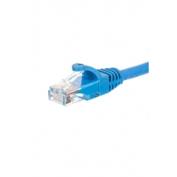 AK010025BL Patchcord UTP kat.5e 0,25m, niebieski