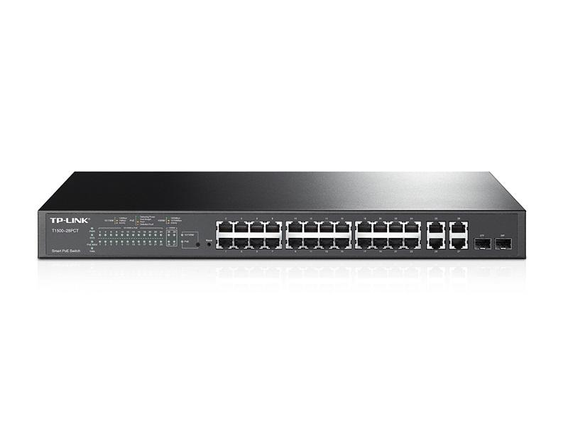 TL-SL2428P Switch Smart PoE+, 24 porty 10/100 Mb/s + 4 porty 10/100/1000Mb/s